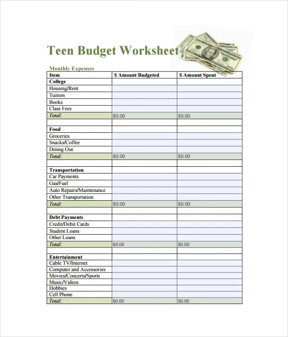 Free Spreadsheet Template - 12+ Free Word, Excel, PDF Documents ...