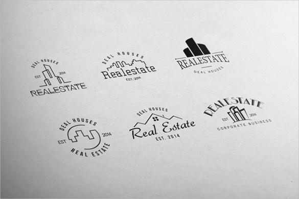 free real estate logos