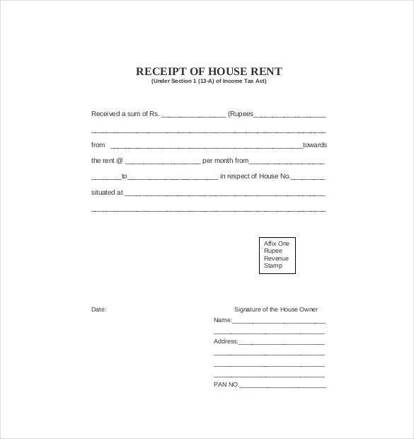 rent slip pdf