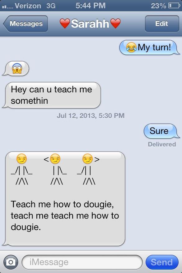 cute emoji texts to girlfriend