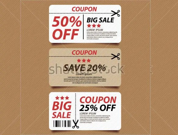 Blank Coupon Template 32 Free PSD Word EPS JPEG Format Download Free Premium Templates