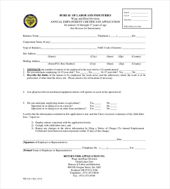 All Resumes Employment Certificate Format Letter