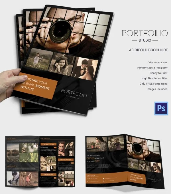 Photography Brochure 32 Free PSD AI Vector EPS Format