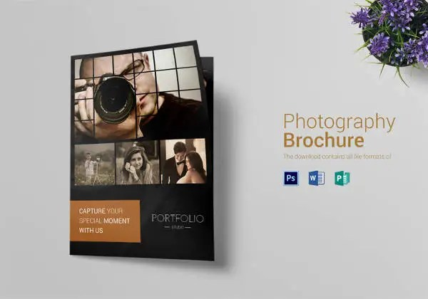 Photography Brochure Template 38 Free PSD AI Vector