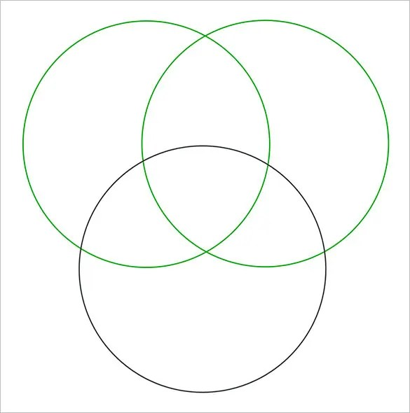 20+ Venn Diagram Templates