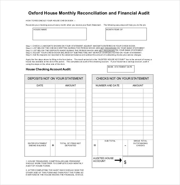 31 Audit Report Templates  Free Sample PDF Word Format