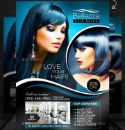 beauty salon flyer templates