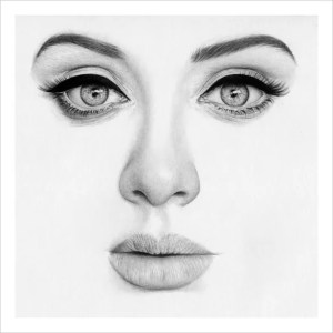 realistic drawing face drawings beauty template hyper pencil portrait