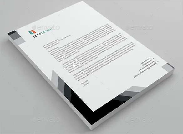 20 Business Letterhead Templates – Free Sample Example