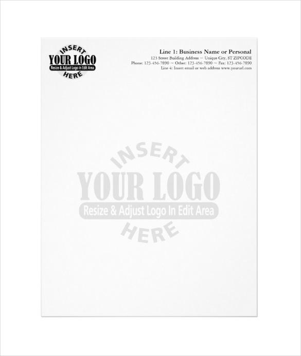 20+ Business Letterhead Templates