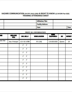 Training attendance sheet template also templates pdf doc excel free  premium rh