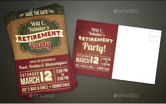 12 Retirement Flyers  Free PSD AI Vector EPS Format Download  Free  Premium Templates