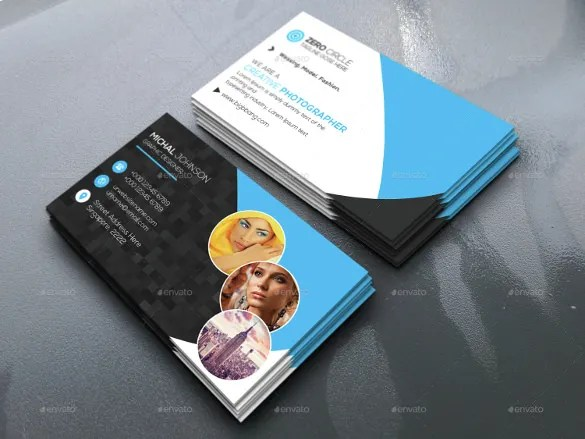 52 Photography Business Cards Free Download  Free