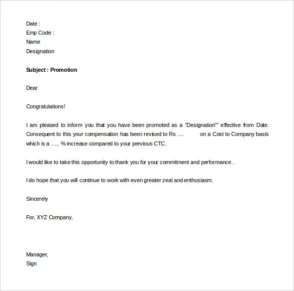 performance appraisal letter format - April.onthemarch.co