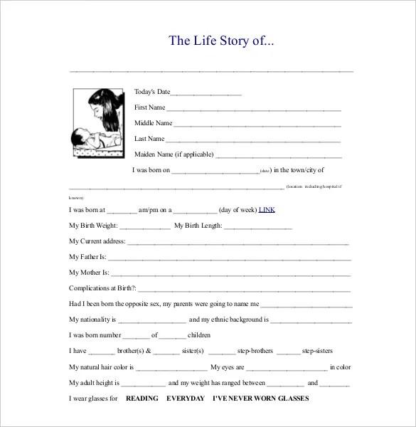 25 Biography Templates DOC PDF Excel Free & Premium