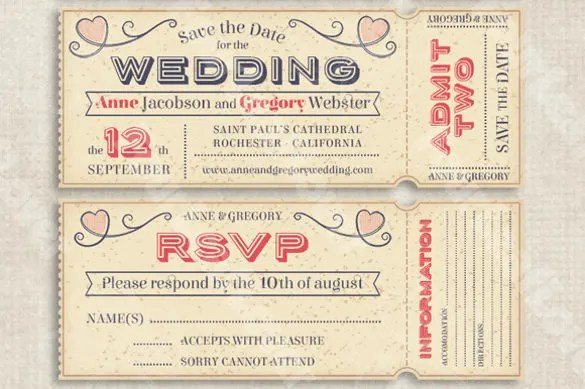 Hawaiian Hibiscus Airline Ticket Inspired Save The Date Invitations Perfect For A Tropical