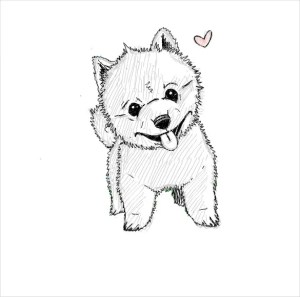 dog drawings drawing template cliparts templates deviantart puppy pdf library clipart getdrawings