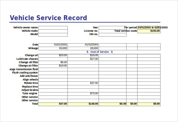 Free Excel Template – 27+ Free Excel Documents Download   Free ...