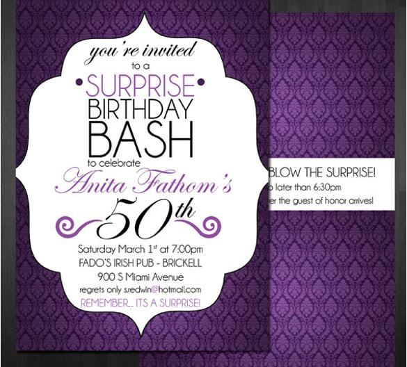 49 birthday invitation templates psd
