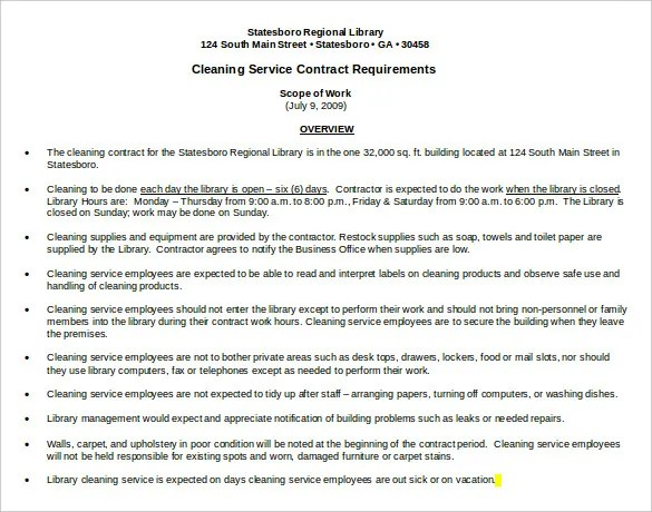 Cleaning Proposal Letter. Cover Residential Housekeeper Cover ...