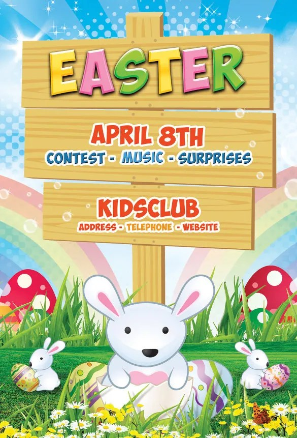 31 Easter Flyer Templates Free Sample Example Format