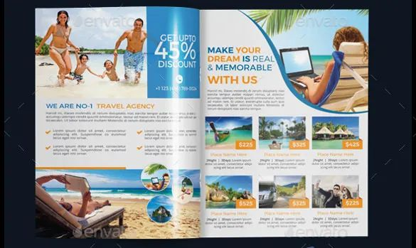 example of a travel brochure
