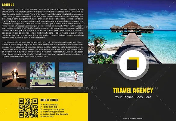 Travel Brochure Example Ideal Vistalist Co
