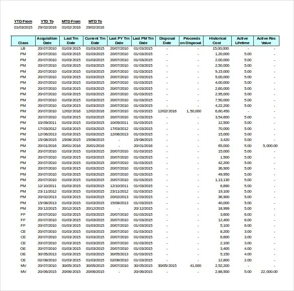 14+ Asset Inventory Templates - Free Excel, PDF Documents Download ...