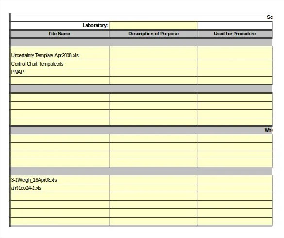 Inventory Worksheet Template – 15+ Free Word, Excel, PDF Documents ...