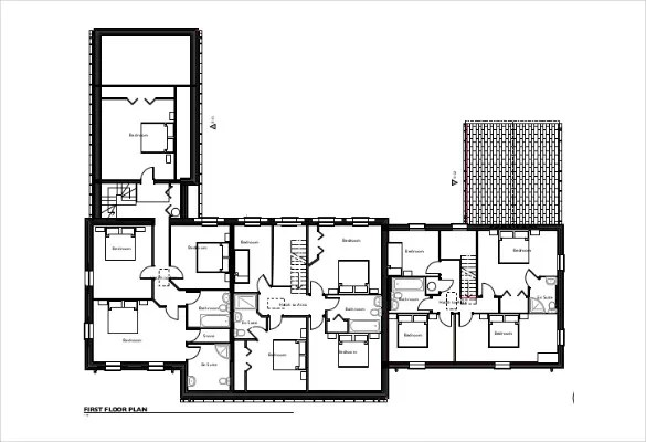 Evacuation Plan Autocad Drawing Free Download  Autocad