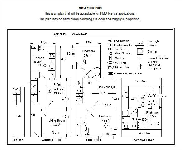 Floor Plan Drawing Template Novocom Top