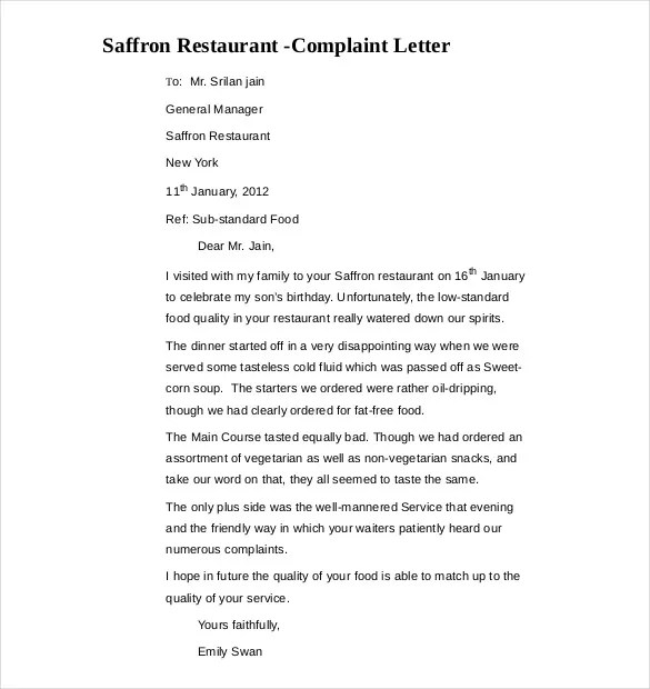police complaint letter format Are you looking for a police fir application format and a complaint with police station as per the above format to write complain letter to police.