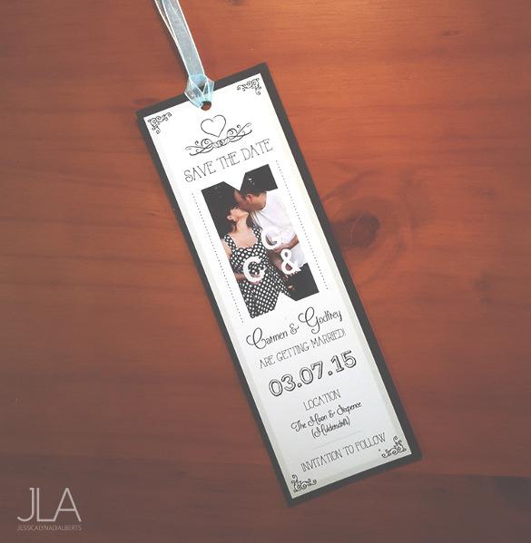 20 Wedding Bookmark Templates PSD Vector EPS Free