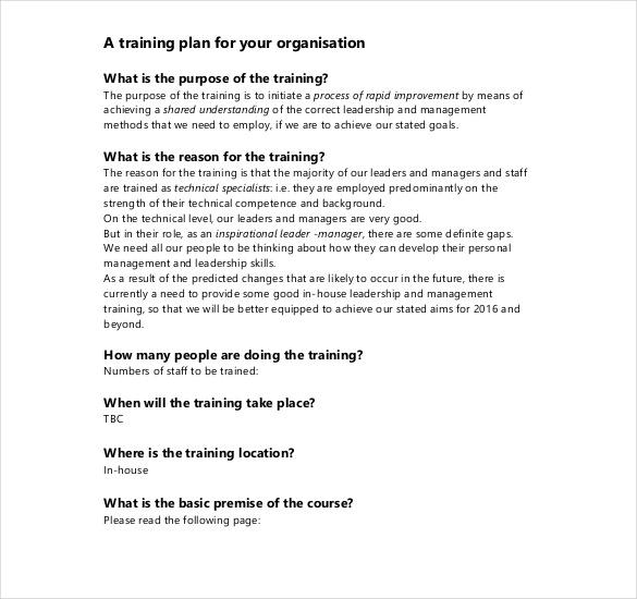 41 Training Proposal Templates PDF DOC Free