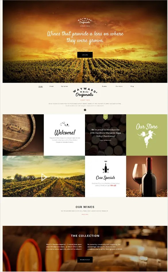 Free Agriculture Website Templates Themes Free Premium Free Premium Templates