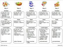 Daycare Menu Templates – 11+ Free Printable,PDF Documents ...