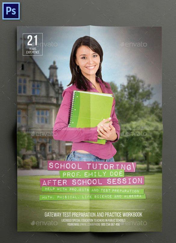 tutoring flyer