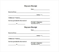 24+ Daycare Receipt Templates - PDF, DOC | Free & Premium ...