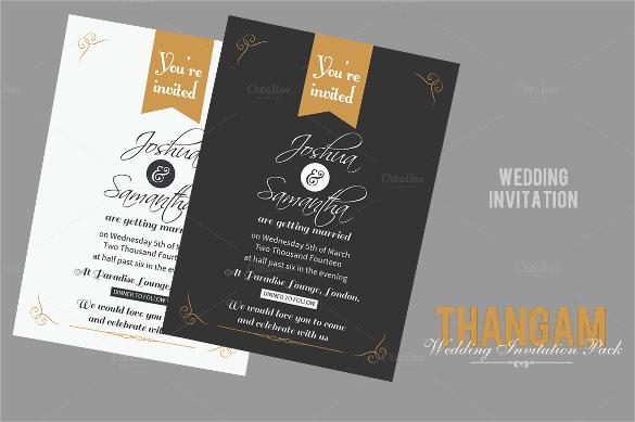 53 Invitation Card Templates  PSD AI EPS  Free