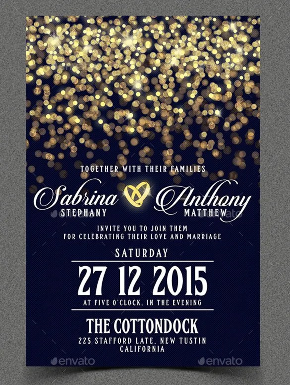 53 Invitation Card Templates PSD AI EPS Free