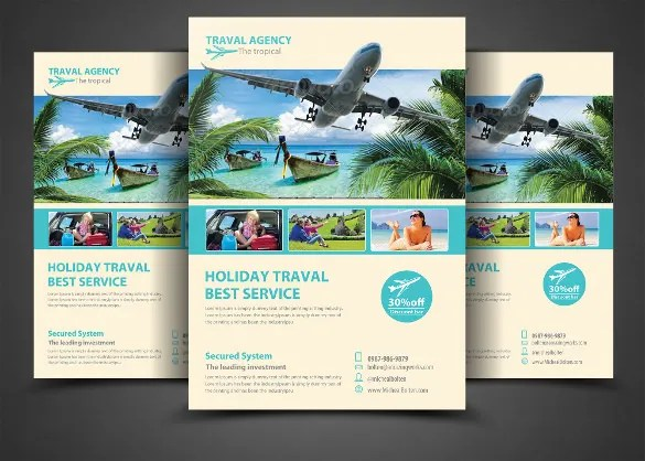 Travel Flyer Template – 43 Free PSD AI Vector EPS