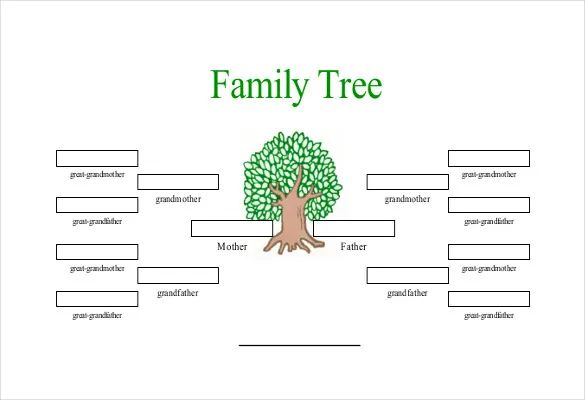 printable family tree chart with siblings