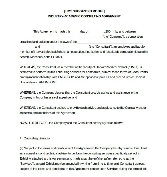 HR Agreement Templates - 5+ Free Sample, Example, Format Download ...