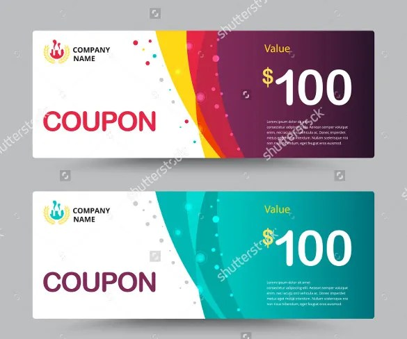 28 Gift Coupon Templates PSD Ai Word Free & Premium