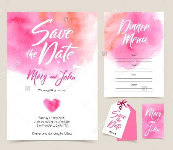 Wedding Card Template Free Printable Word Psd Eps Invitation