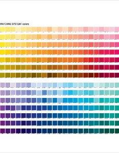 Pantone matching system color chart in word also templates free download rh template