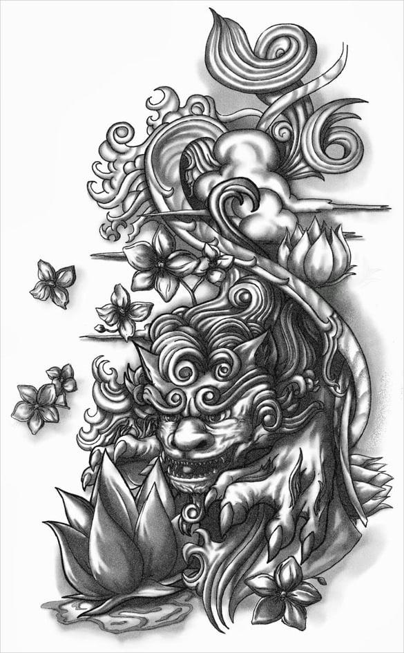 tattoo drawings - free psd