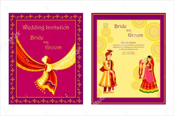 Traditional Wedding Invitation Templates: Traditional Wedding Invitation Templates