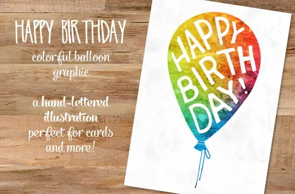 Happy Birthday Images – 27 Free PSD AI Vector EPS