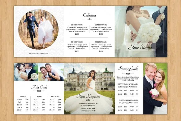 26 Wedding Brochure Templates – Free Sample Example Format